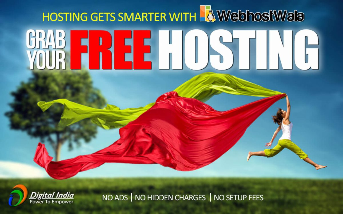 FREE WEB HOSTING IN INDIA TO GET WEBSITE ONLINE