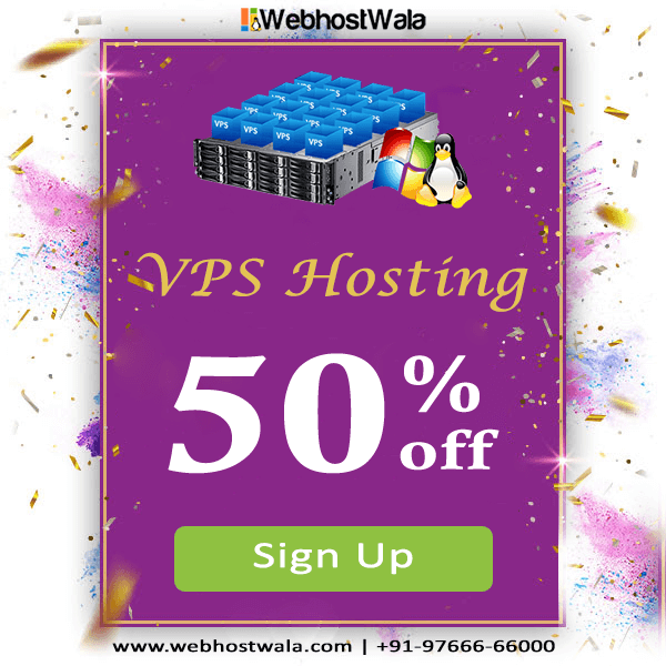 VPS HOSTING WITH BEST FEATURES AT DISCOUNTED PRICES